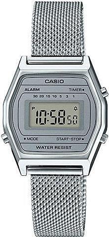 Zegarek Casio Retro LA690WEM-7EF srebrny