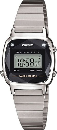 Zegarek Casio Zegarek Casio Retro Diamond Limited LA670WEAD-1EF uniwersalny