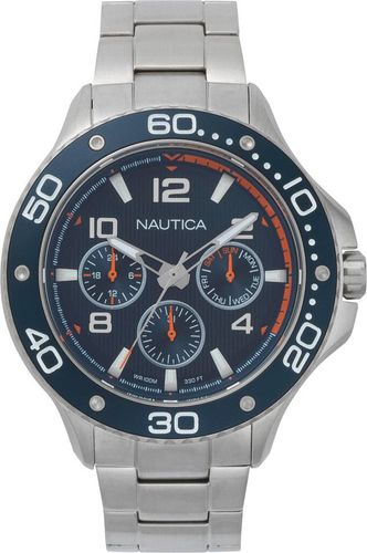 Zegarek Nautica Zegarek Nautica Pier 25 NAPP25006 Multi Data uniwersalny