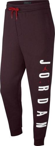Jordan  Spodnie męskie Sportswear Jumpman Air bordowe r. L (AT4913-652)