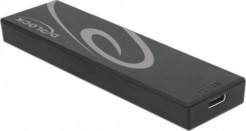 Etui Delock Delock Obudowa zewnętrzna M.2 NGFF SSD > USB 3.1 Typ-C (F)