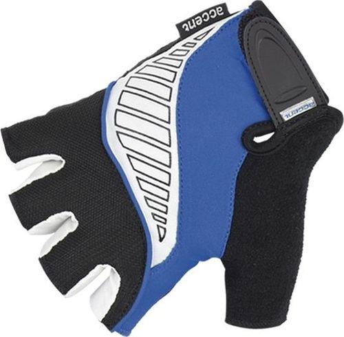 Accent Rękawiczki Accent Wave niebiesko-biało-czarne XXL