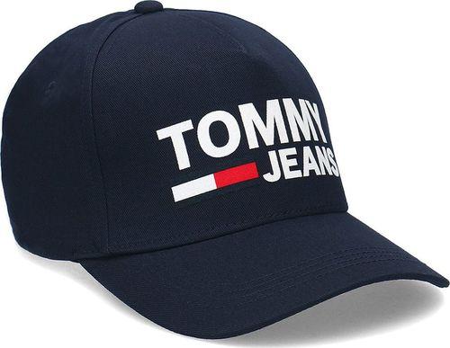 0011b2557 Tommy Hilfiger Tommy Hilfiger Jeans Flock Cap - Czapka Męska - AM0AM04676  496 Uni