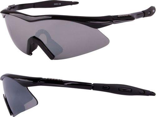 Accent Okulary Chico czarne metalizowane uniwersalny