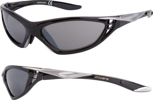 Accent Okulary BARRACUDA czarno-srebrne uniwersalny