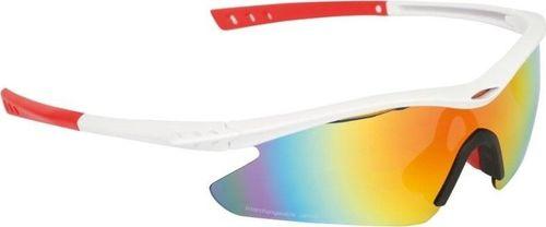 B-skin Okulary B Skin PARITE biało-czerwone GL-BS067 uniwersalny