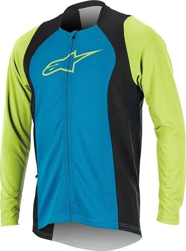 Alpinestars Koszulka męska Drop 2 Full Zip bright blue-green r. M (1766817-7060)