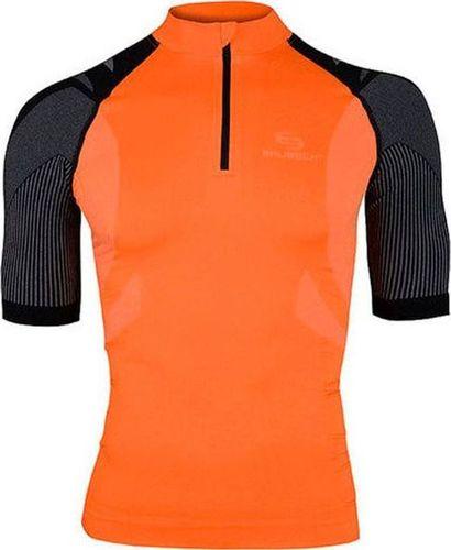 Brubeck Koszulka męska SS10410 pomarańczowa r. M