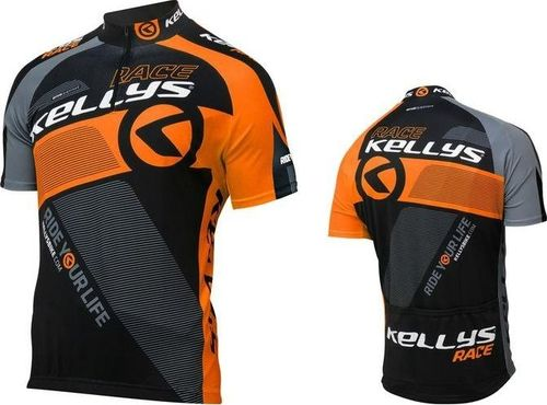 Kellys Koszulka KELLYS PRO RACE orange  krótki rękaw L