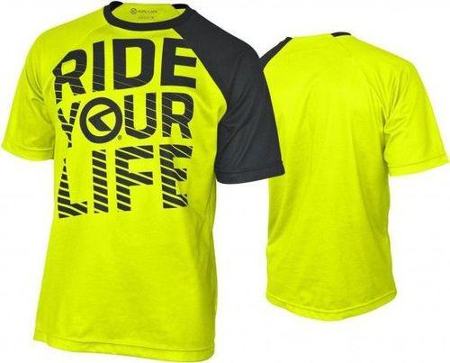 Kellys Koszulka męska Ride Your Life Lime r. L