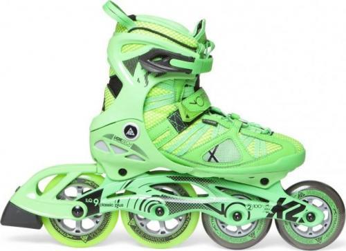 Rolki K2 Sport Alexis Vo2 100 X Pro rekreacyjne zielone r. 42.5