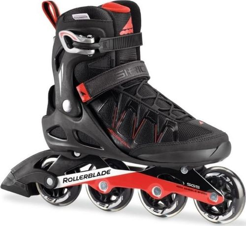 Rollerblade Rolki Sirio Comp black/red r. 42.5