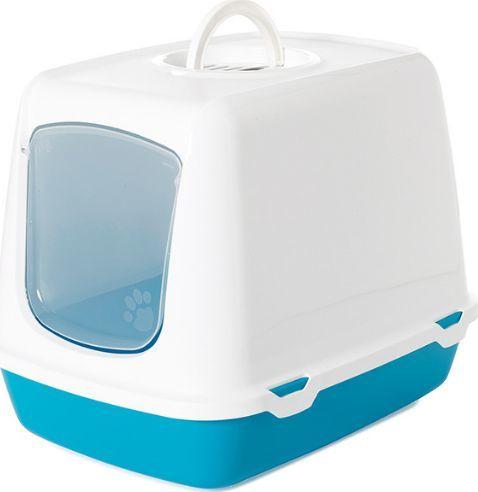 Savic Savic Oscar - toaleta dla kota niebieska 50 x 37 x 39cm uniwersalny