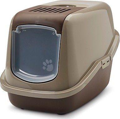 Savic Kuweta dla kota kryta Nestor czekoladowy brąz uniwersalna