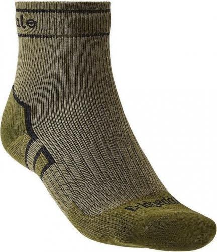 Bridgedale Skarpety unisex StormSock Mid Ankle khaki r. 36-39
