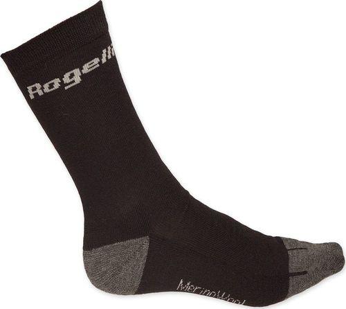 Rogelli Skarpety unisex Wool czarne r. XL