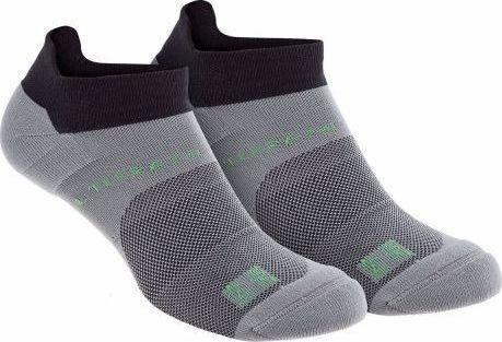 Inov-8 Skarpety unisex All Terrain Sock Low Dwupak czarno-szare r. 44-47
