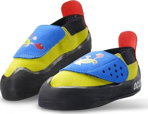 Ocun Buty wspinaczkowe dla dzieci Ocun Hero QC - blue/yellow 34
