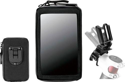 """Geotech Pokrowiec Geotech GBA-017 na telefon-smartfone 4,7"""", mocowany na mostek kierownicy uniwersalny"""