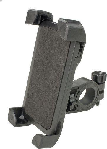 Uchwyt rowerowy CH-01 na smartfon czarny uniwersalny