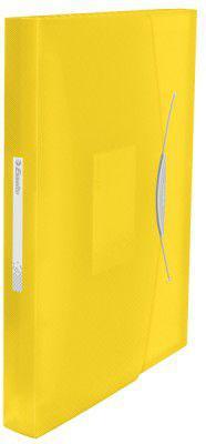 Esselte Teczka z przegródkami VIVIDA Żółty (624020)