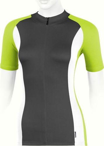 Accent Koszulka ARETE czarno-biało-zielona  L