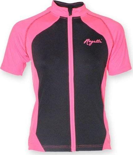 Rogelli Koszulka Rogelli Bice różowo-czarna S