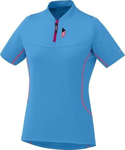 Shimano Koszulka damska Touring niebieska r. S