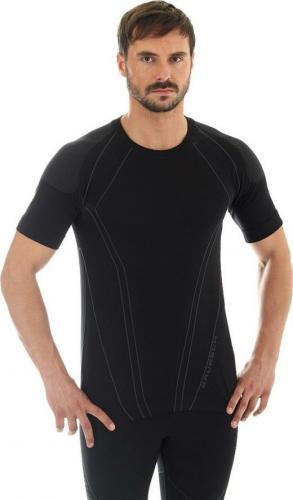 Brubeck Koszulka męska czarna r. L (SS10220)