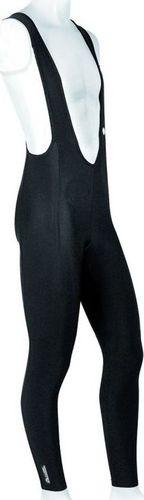 Accent Spodnie z szelkami bez wkładki CORRADO czarne M