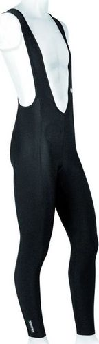Accent Spodnie z szelkami bez wkładki CORRADO czarne XXL