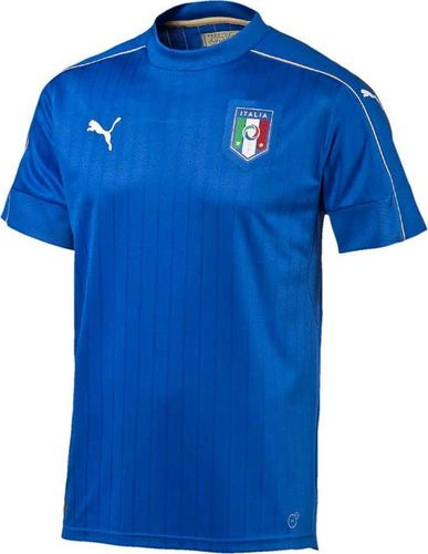 Puma Koszulka męska FIGC Italia Home niebieska r. L