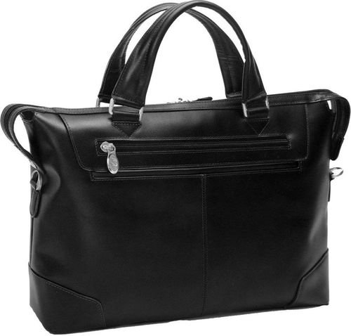 MCKLEIN Skórzana męska torba na laptopa MCKLEIN Arcadia 88765 czarna