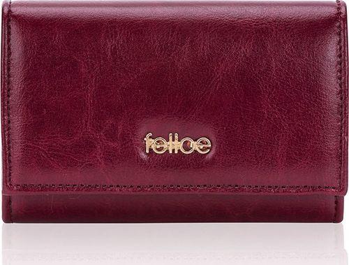 Felice Skórzany portfel damski Felice P06 bordowy