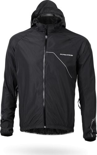 Kross Kurtka Kross HARDSHELL RAINY JACKET black L