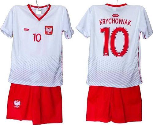 65d36bc263c17a Reda Komplet piłkarski replika Polska 2016 Krychowiak biało-czerwony r. 152