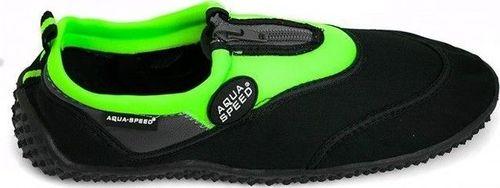 Aqua-Speed Buty Aqua shoe 4A czarno-zielone 39