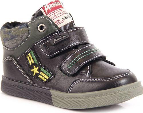 American Club Buty dziecięce AM481 czarne r. 26