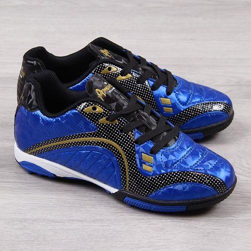 American Club Buty piłkarskie AM541 niebieskie r. 33