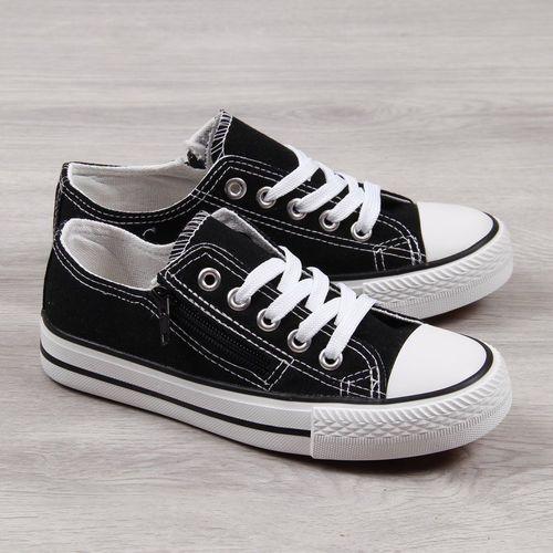 N.E.W.S. Buty dziecięce EVE126A czarne r. 34