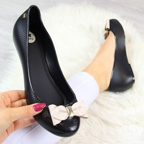 Zaxy Baleriny gumowe czarne Zaxy New Pop Beauty 36