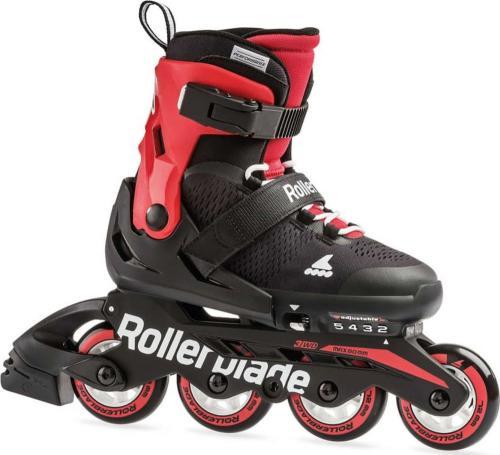 Rollerblade Rolki Microblade czarno-czerwone r. 28-32 (7957200)