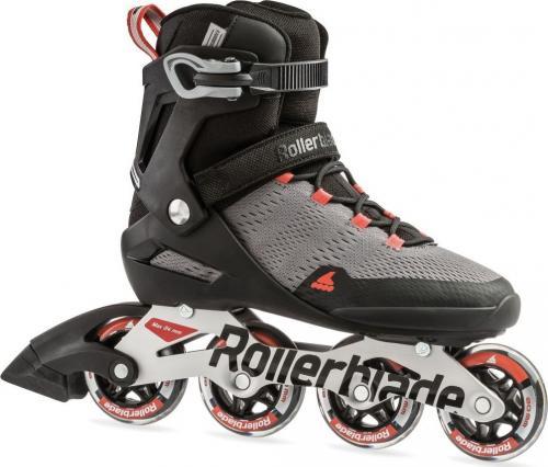 Rollerblade Spark 80 Grey/Burnt Orange r. 44 (7959100)