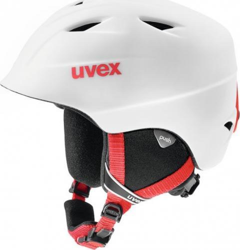 UVEX Kask dziecięcy Airwing Pro 2 White Red r. 52-54cm