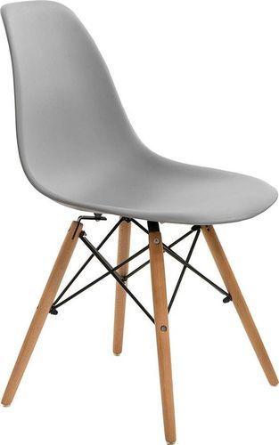 Simplet Krzesło Simplet P016W basic szare uniwersalny