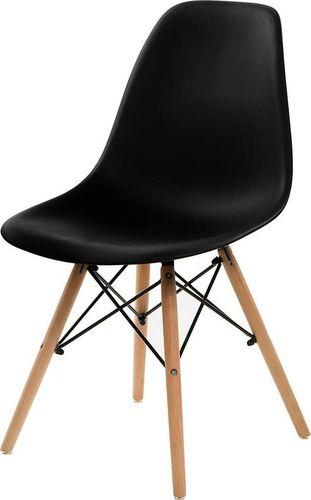 Simplet Krzesło Simplet P016W basic czarne uniwersalny