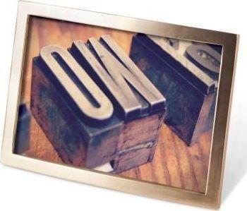 Ramka Umbra Ramka na zdjęcia Senza 10x15 Brass matow uniwersalny