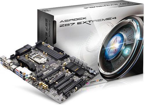 Płyta główna ASRock Z87 EXTREME4, Z87, DualDDR3-1600, SATA3, GBLAN, RAID, ATX (Z87 EXTREME4)