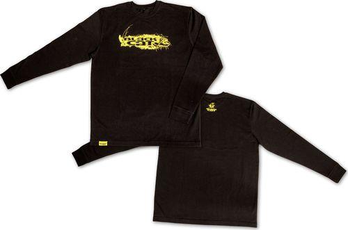 Black Cat XXL Koszulka z Dlugim Rekawem czarny (8430004)