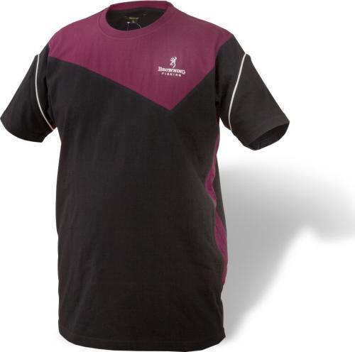 Browning T-Shirt 8494005 czarno-bordowy r. XXXL